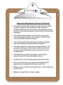 Download Your Free E-Mail Checklist!