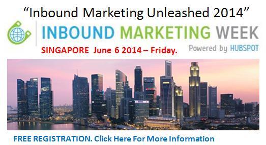 Inbound Marketing Week Singapore 2014