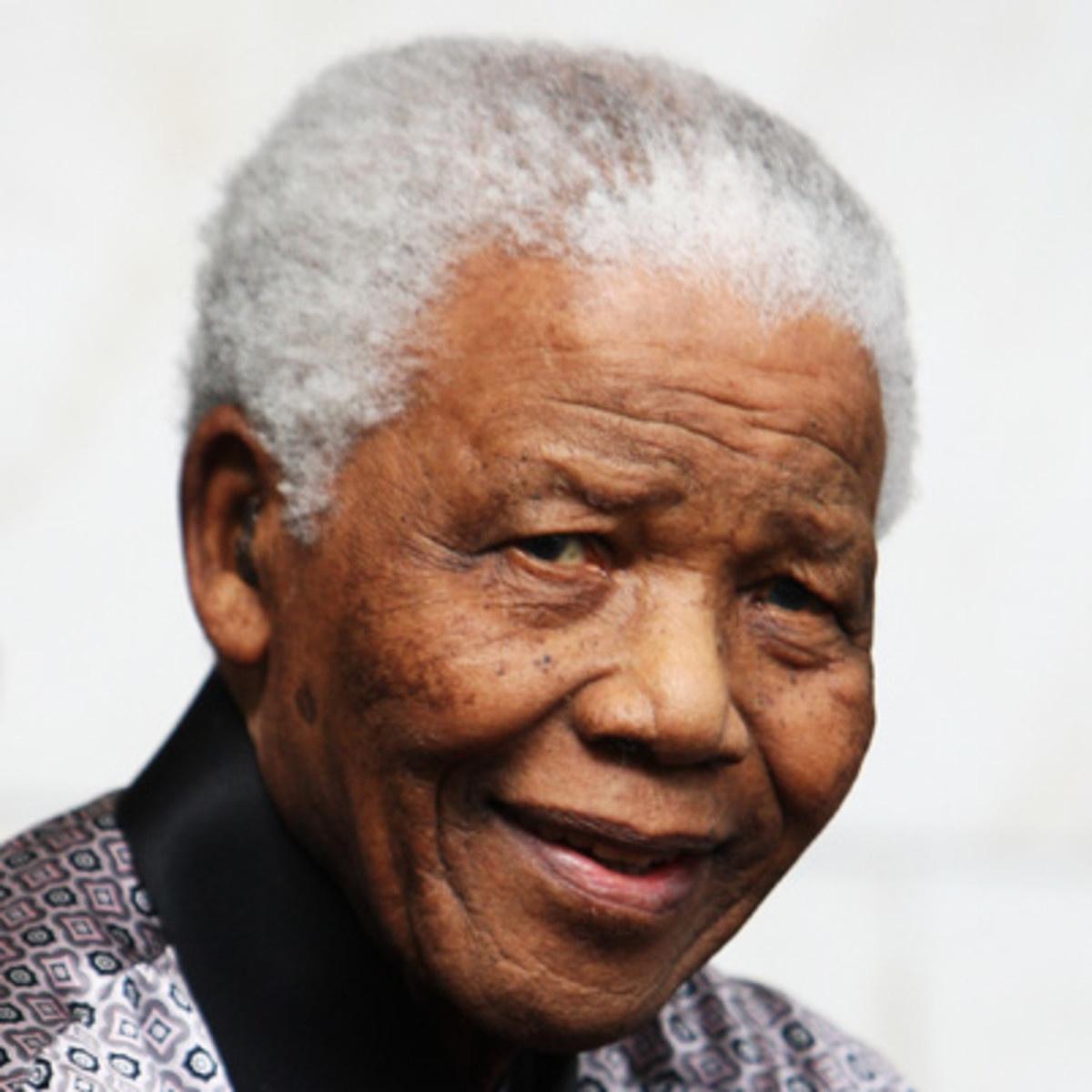 Nelson Mandela Headshot
